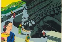 Vintage India Travel Posters / by Saikat Mitra