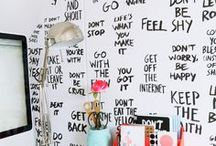 For the Home: Inspiration  / I am moving into a new home soon. My first home with my hubby :) These are all great ideas I plan to try, and inspirations for making the house our own. / by Ali Mast