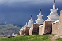 Central Asia / Tibet, Nepal, Bhutan & Mongolia / by Rod Jacobs