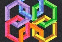 Blocs et modeles - blocks and patterns / pour le patchwork - for patchwork / by Olivia La Bobine