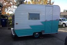 vintage travel trailer / by Stacie Guzman