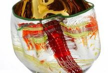 Chihuly Style / Dale Chihuly is an American glass sculptor and entrepreneur with a very unique style. / by Harriett Seckinger