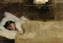 ARTSY BEDTIME / by Marilyn Albers