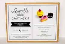 Assemble Crafting Kits / by Assemble Shop