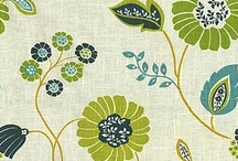 Fabrics I Love / Fabric is always my inspiration for decorating a room. / by Karen