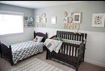Shared baby room  / by GagaGallery Wheeler3Designs