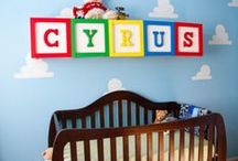 Colorful and Fun baby rooms / by GagaGallery Wheeler3Designs