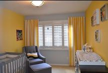 Yellow baby rooms / by GagaGallery Wheeler3Designs