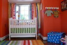 Orange baby rooms / by GagaGallery Wheeler3Designs