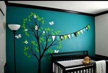 Nature Baby themed rooms / by GagaGallery Wheeler3Designs