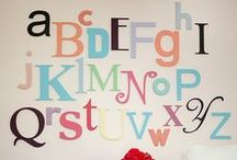 ABC's room / by GagaGallery Wheeler3Designs