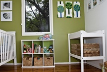 Green Baby rooms / by GagaGallery Wheeler3Designs