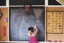 Chalk board wall / by GagaGallery Wheeler3Designs