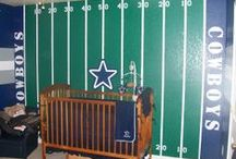 Sports themed rooms / by GagaGallery Wheeler3Designs
