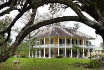 Bayou House / French Creole architecture to form the foundation of our home-to-be on a Mississippi Gulf Coast bayou.  / by Megan Jordan