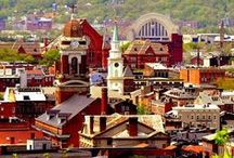 Cincinnati - Just a Bridge Away / Just minutes from Northern Kentucky, Cincinnati offers exquisite dining, nightlife, shopping, entertainment and more. / by meetNKY
