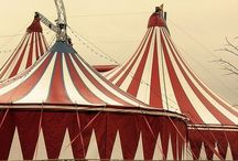 Carnival & Circus / Have you ever read The Night Circus by Erin Morgenstern? Vintage carnivals and circuses. Let's live in the midway. / by Megan Jordan