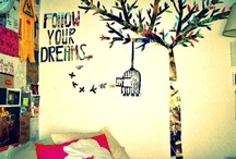 Ideas for my room / What I hope to happen in my room. It probably won't. / by Ana Gallina
