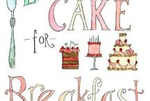 Cakes & Bars / by Barbara Alfonso