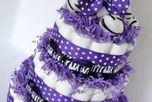 Diaper Cakes  / by GagaGallery Wheeler3Designs