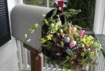 Easter Door / Porch / Outdoor Ideas / by Kathy Herrington