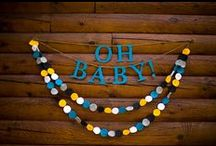 Baby Shower Signs and Banners / by GagaGallery Wheeler3Designs