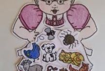 Flannel Board / Quiet Book / Patterns / by Kathy Herrington