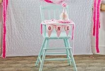 1st Birthday Highchair / by GagaGallery Wheeler3Designs