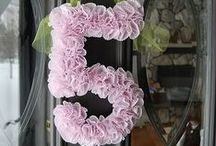 Birthday Numbers / by GagaGallery Wheeler3Designs