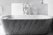 Interiors | Bathrooms / Bathroom design / by Rue du chat qui Pêche ★