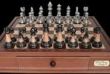 Chess Pieces & Boards / by Paula Christine Finney