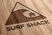 [ SURF SHACK ] / house where an endless number of surfboards are found and the backyard is the beach  / by Michele G.