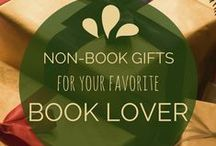 Christmas and Hanukkah Gifts for Book Lovers / Holiday gifts for the reading fanatic in your life! Curated by a librarian at http://abooklongenough.com. / by A Book Long Enough