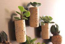 Wine bottle & Cork Crafting / by Trinitas Cellars