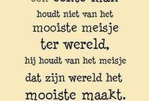 citaten-mooie woorden ideetjes / by Marjan Van Rompaey ( piepeloe)
