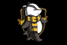 Harry Freakin' Potter! / Hufflepuff and Proud! / by Christine