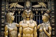 Art Deco Egyptian Revival / by Kada Walden