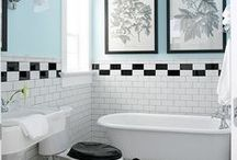 Lovely Loos / Great bathrooms for an early 20th-century home. / by Kada Walden