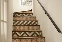 Downstairs / ...and other great stairs in the home. / by Kada Walden