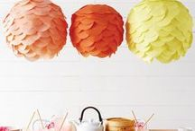 LANTERN CRAFTS / Do it yourself project ideas with our Soji Solar Lanterns! / by ALLSOP HOME & GARDEN