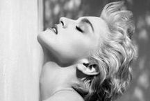 Madonna: Devotion & inspiration / Madonna is the soundtrack of my life since 1985. She is my religion. / by Laly Gonzalez