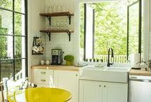 Bitchin' Kitchen / A special focus on kitchens of the early 20th century, and great must-do ideas for my own. / by Kada Walden