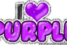 Purple...Violeta...Lila...Lavanda... / I love purple!!! / by Maricarmen del Rio
