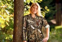 SOLA™ Women's Hunting Apparel / Created for women by women, SOLA is cutting edge hunting apparel for today's top female predators. Driven by customer feedback, ScentBlocker's SOLA line is an answer to the call of one of the fastest growing niches in the outdoor industry, women hunters. / by Robinson Outdoor Products