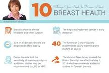 Breast Health Awareness / Sharing expert information from The Breast Center at #CarePoint Health #Breast #Health  / by CarePoint Health
