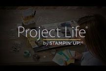 Stampin' Up! Scrapbook with Project Life / by Carol McCarron - A Crafty Cat