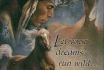 LIFE STYLE PAINTINGS / NATIVE AMERICA / by linda waugh