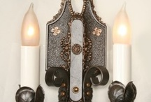 Sconces / Illuminate and enhance your home's beauty with our professionally restored authentic vintage wall sconces from Restoration Lighting Gallery in Hartford, CT. www.myrlg.com / by Restoration Lighting Gallery