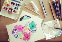 Watercolor & Gouache / Works of Art, Inspiration, Tips, Palettes, Resources / by Mandy Favaloro