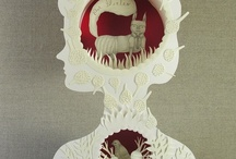 Paper Arts / Artwork (mostly) made of paper. / by Lara Cannon